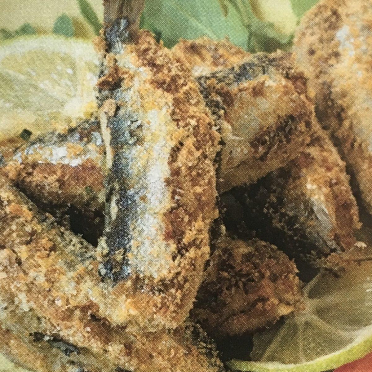 Sarde ripiene e fritte- Ricette pesce
