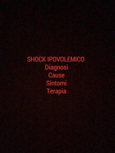 Shock ipovolemico